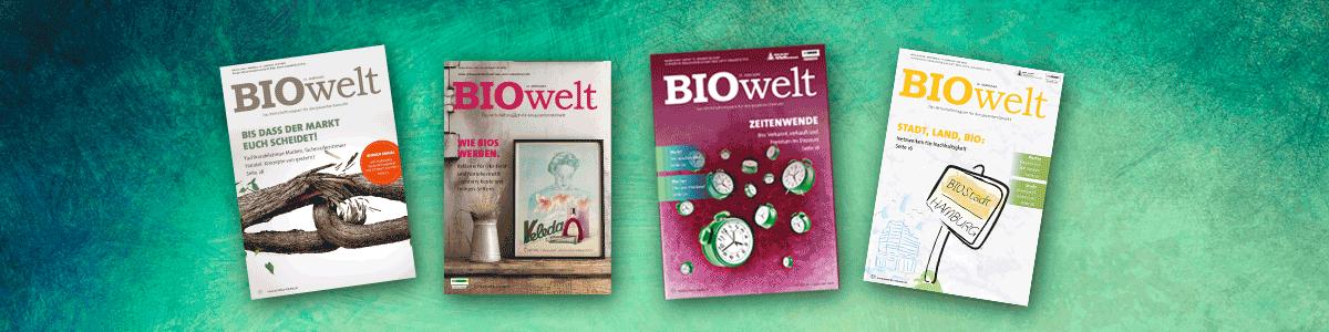 BIOwelt – Das Wirtschaftsmagazin für den gesamten Biomarkt