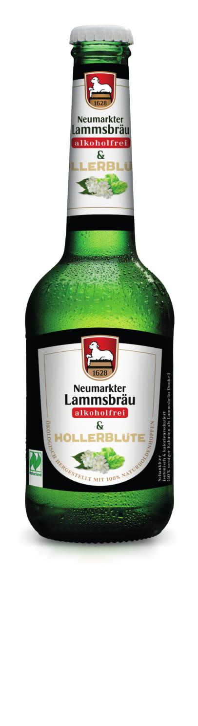 Lammsbräu Alkoholfrei & Hollerblüte