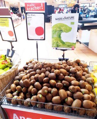 Italienische Bio-Kiwi kommt