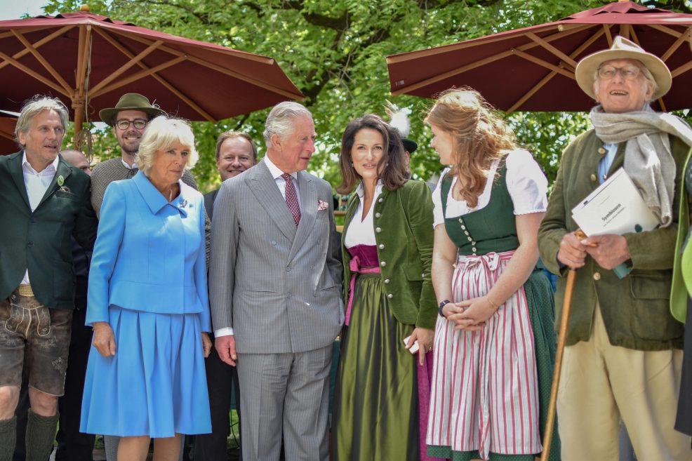 Royaler Besuch bei Herrmannsdorf