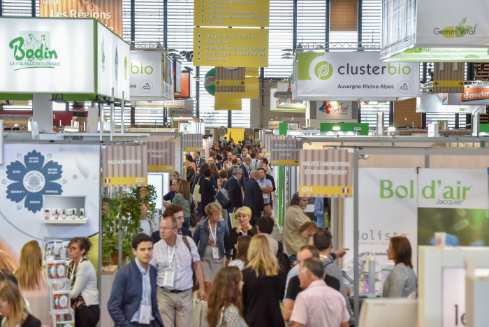Natexpo: Bio-Messe in Paris