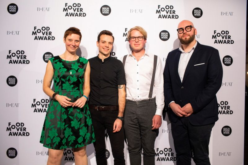 Food Mover Award verliehen