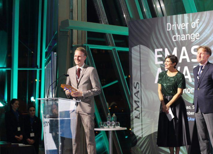 Lammsbräu erhält Emas-Award