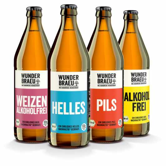 Wunderbräu – Bio-Biere