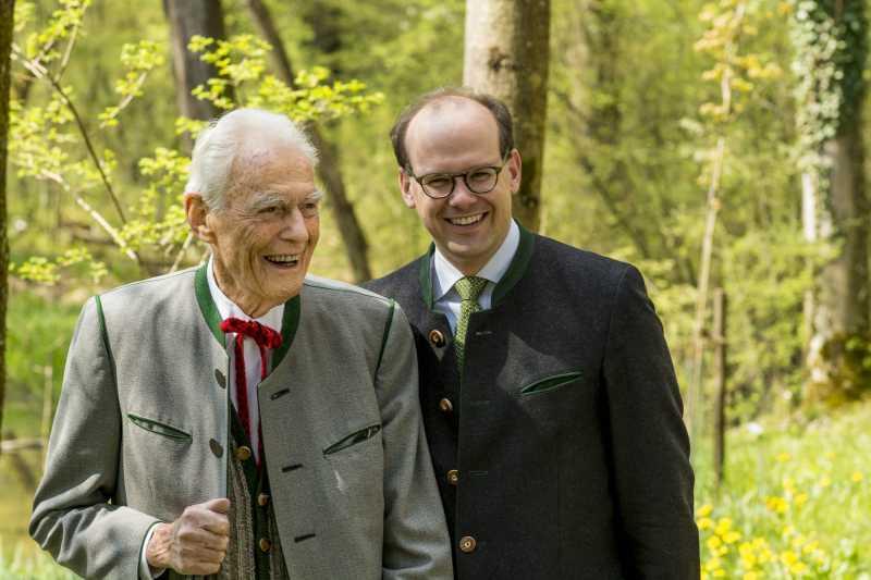 Otto Greither feierte 95. Geburtstag