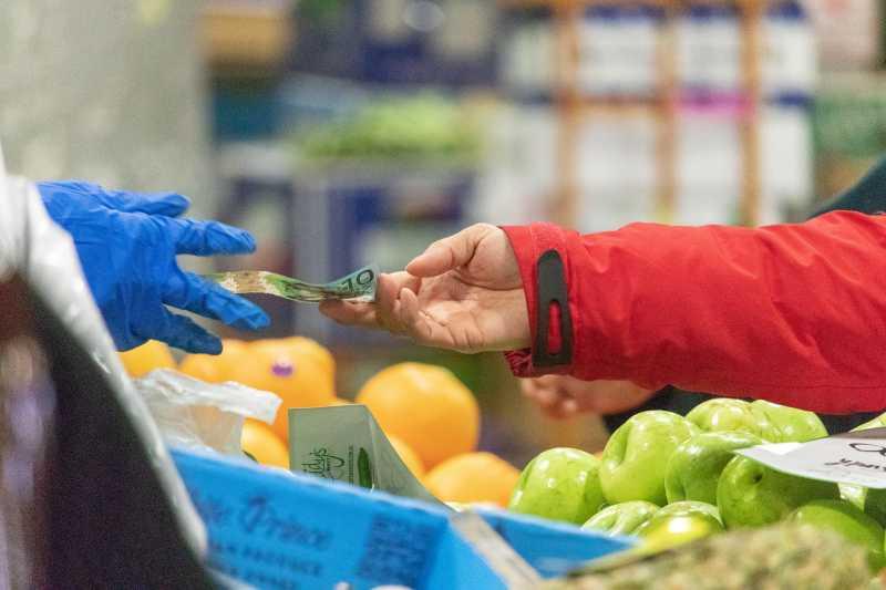 Lebensmittel: Preise stiegen kaum