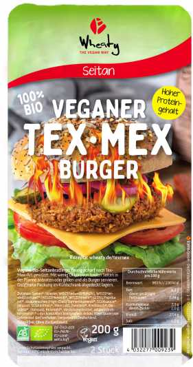 Wheaty – Tex-mex-Burger