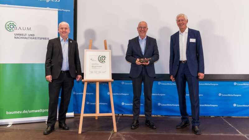 B.A.U.M.-Preis geht an Franz-Theo Gottwald