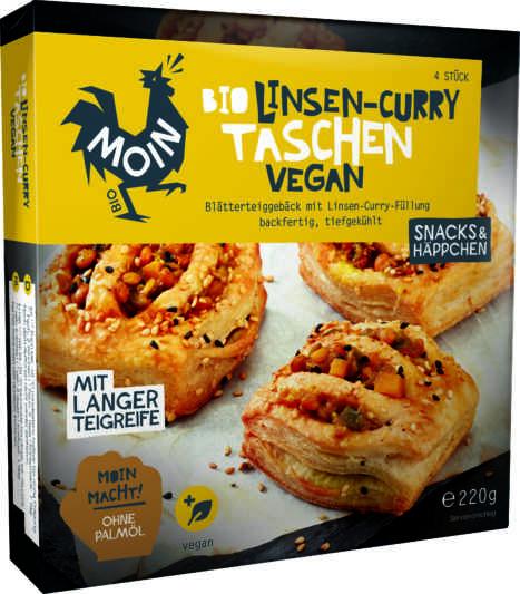 MOIN-Linsen-Curry Taschen Vegan