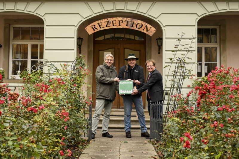 Hotel auf Schloss Kirchberg ist Bioland-Partner