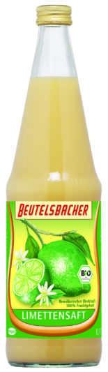Beutelsbacher – Bio Limettensaft