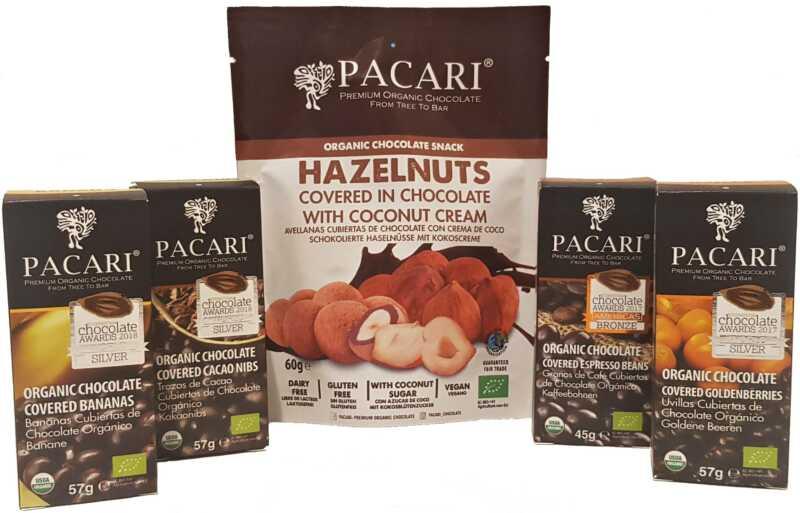 PACARI – schokolierte Früchte
