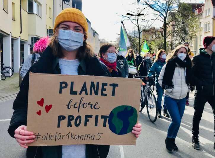 Hunderttausende streiken fürs Klima