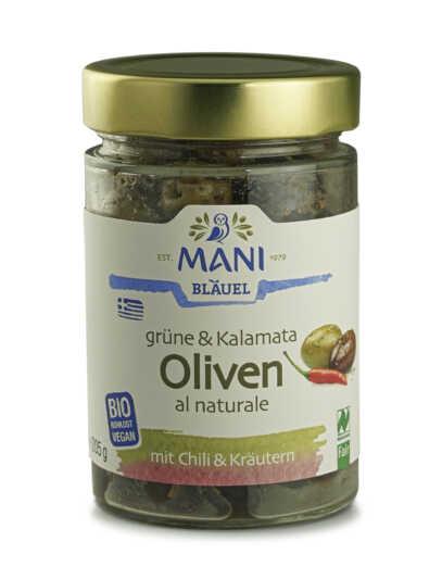 Mani Bläuel – Olivensortiment