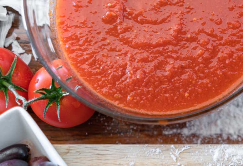 Schimmel in passierten Bio-Tomaten
